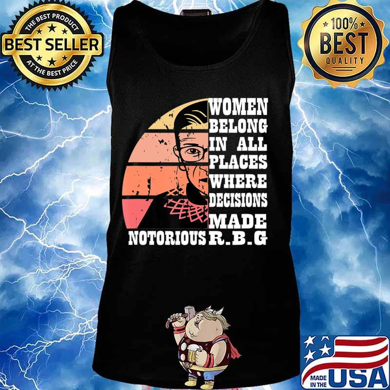 Vintage Notorious RBG T-Shirt Tank top