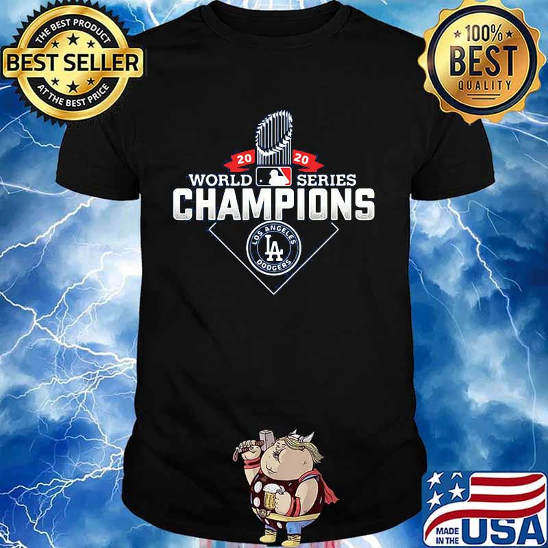 2020 world series champions los angeles dodgers shirt