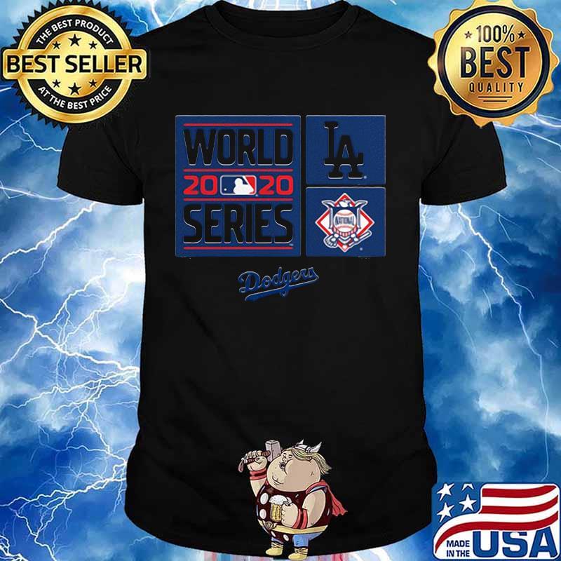 2020 world series los angeles dodgers shirt