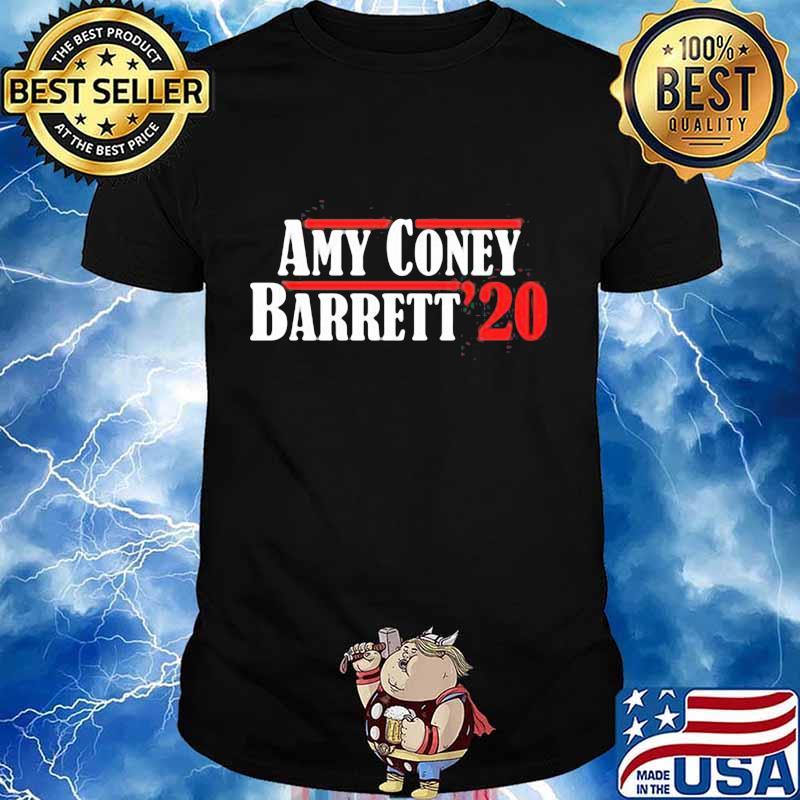Amy Coney Barrett 20 Justice Shirt