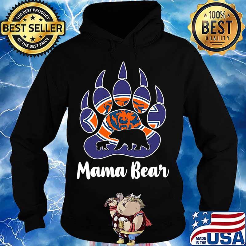 Chicago bear mama paw bear s Hoodie