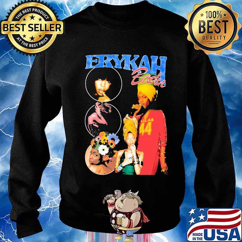 Erykah badu flowers vintage s Sweater