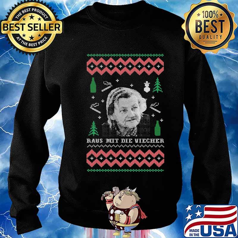 Familie ritter raus mit die viecher ugly christmas s Sweater