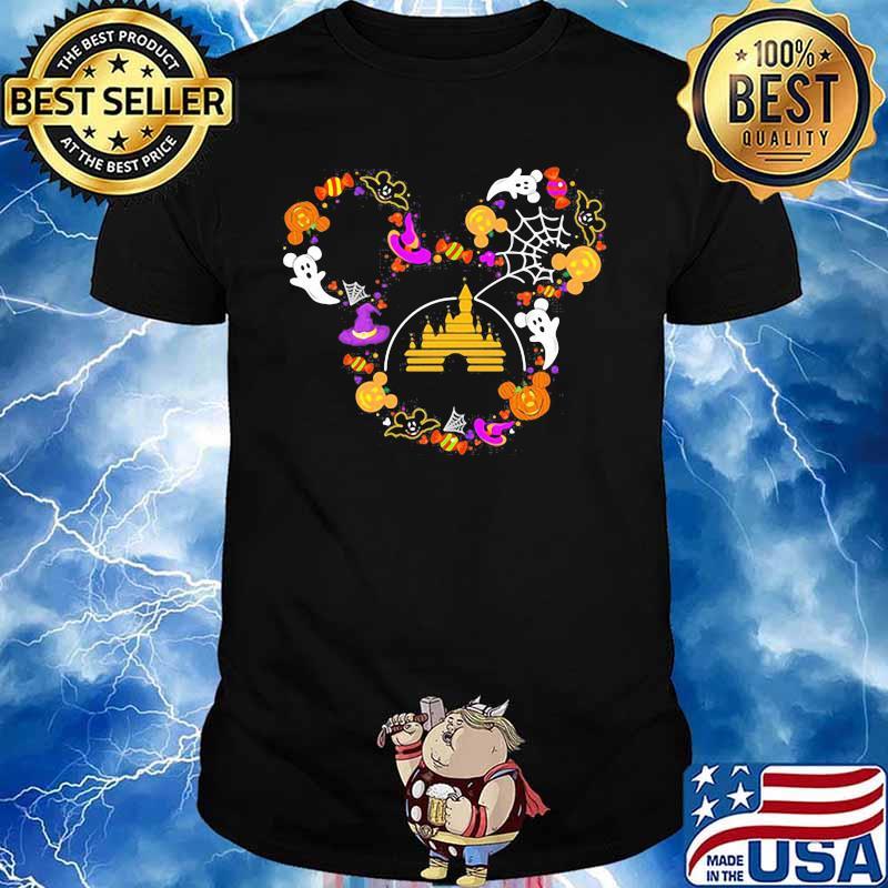Halloween disney mickey mouse shirt