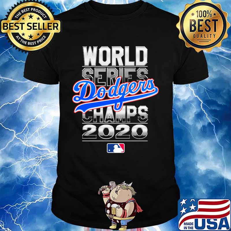 Los angeles dodgers baseball world series champions 2020 shirt