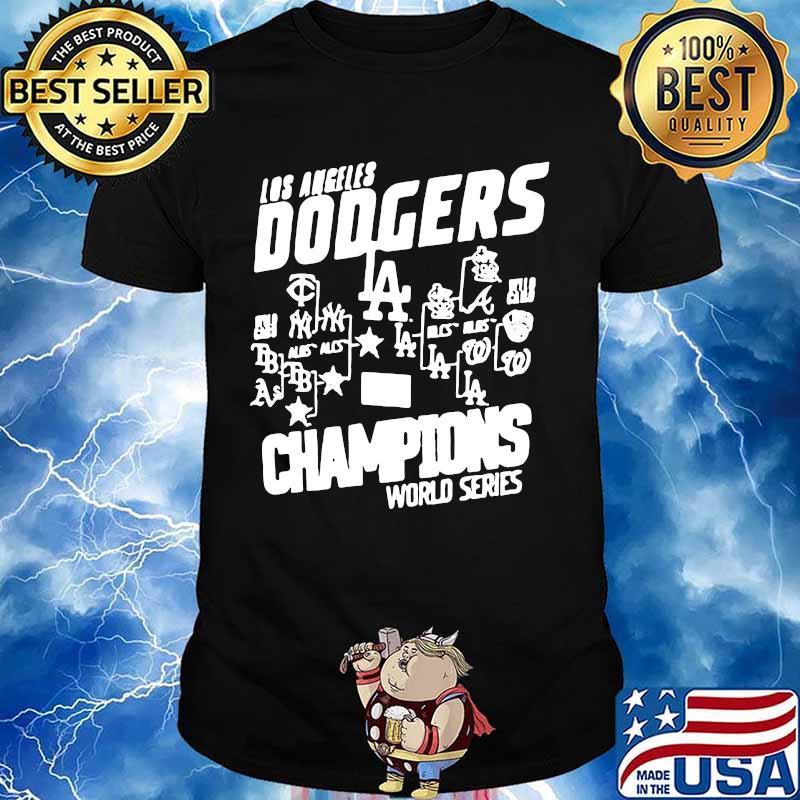 Los angeles dodgers champions world series 2020 shirt