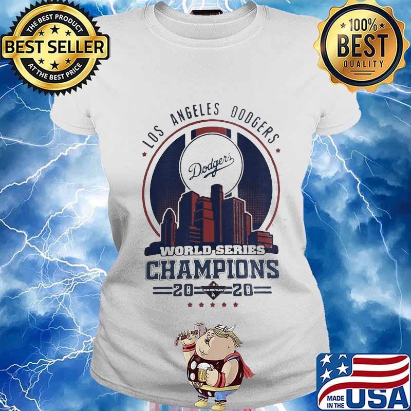 Los Angeles Dodgers City Champions World Series 2020 Shirt Ladies tee