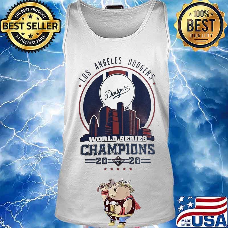 Los Angeles Dodgers City Champions World Series 2020 Shirt Tank top