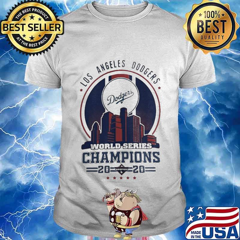 Los Angeles Dodgers City Champions World Series 2020 Shirt