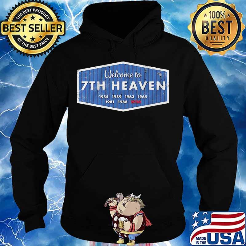 Los angeles dodgers welcome to 7th heaven 2020 s Hoodie