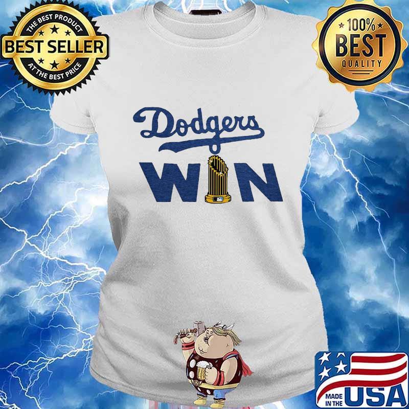 Los Angeles Dodgers Win Shirt Ladies tee