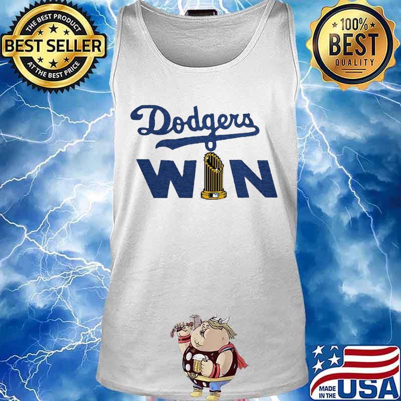 Los Angeles Dodgers Win Shirt Tank top