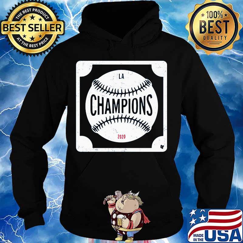 Los angeles dodgers world series 2020 champions baseball logo s Hoodie