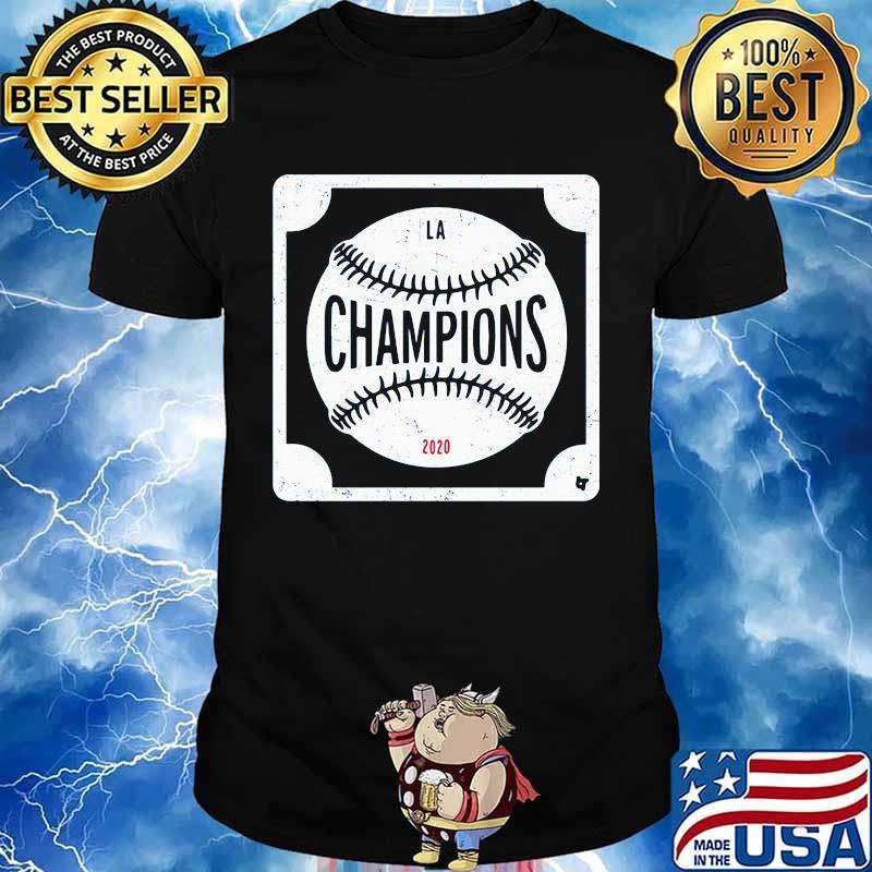 Los angeles dodgers world series 2020 champions baseball logo shirt