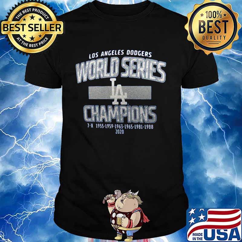 Los angeles dodgers world series champions 2020 shirt