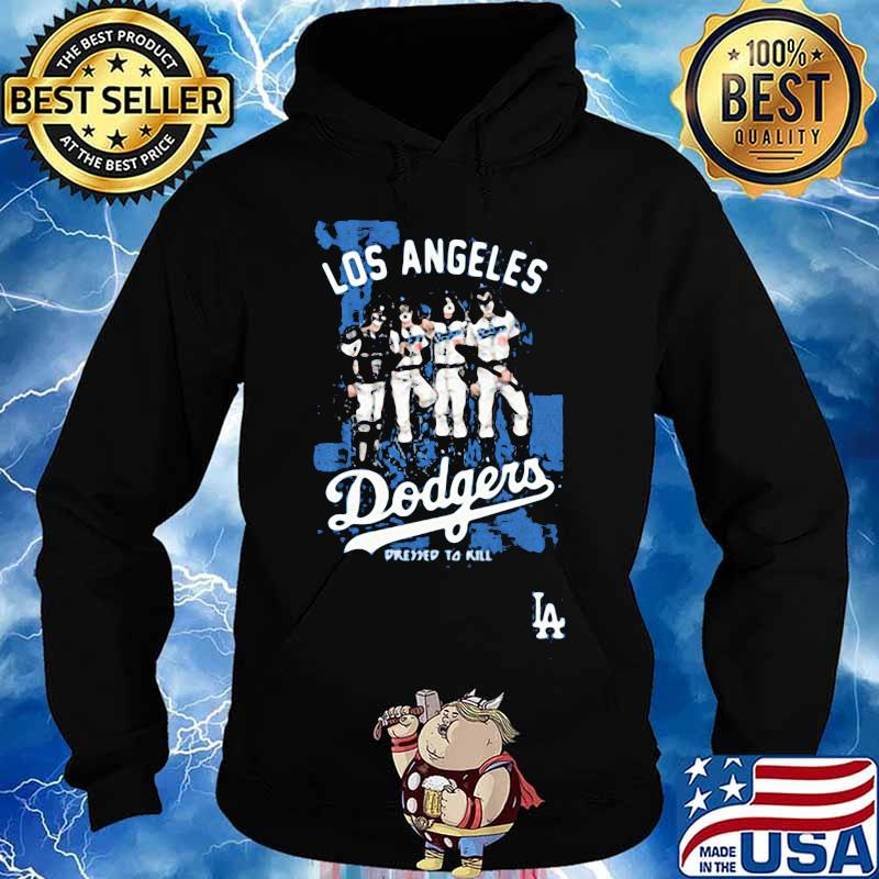 Los angeles dodgers world series champions pressed to kill s Hoodie