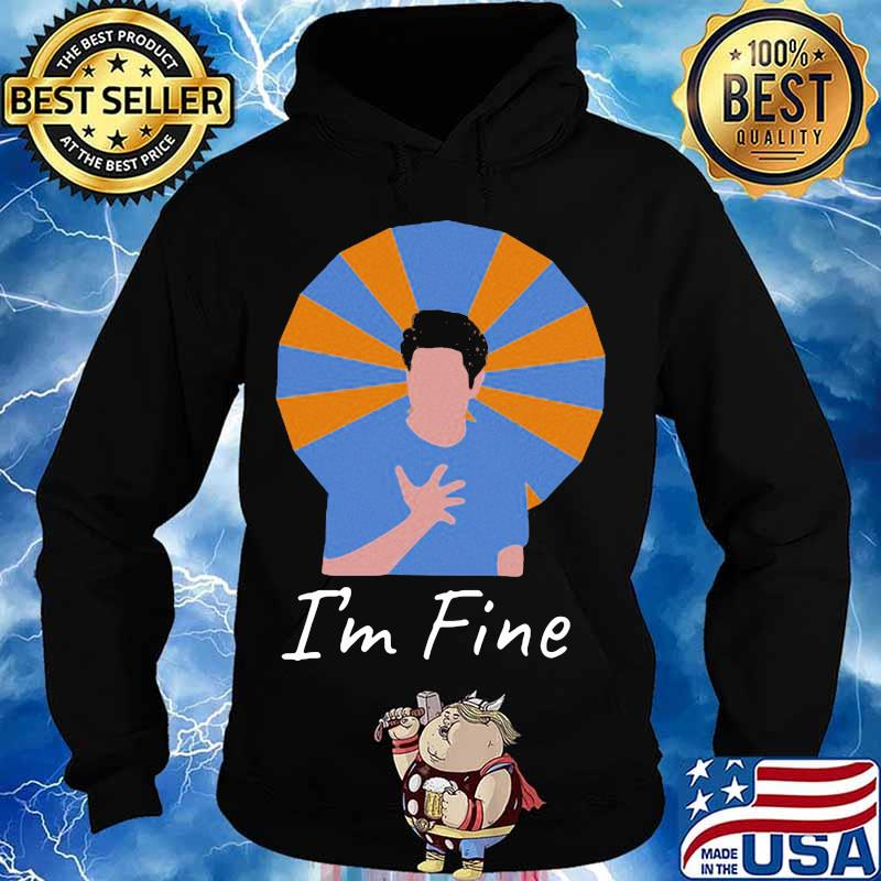 Official i'm fine 2020 s Hoodie