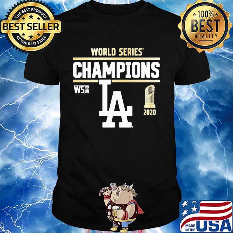 World series champions 2020 los angeles dodgers baseball shirt