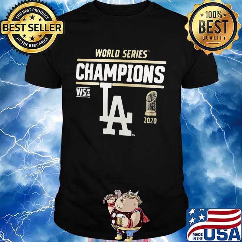World series champions los angeles dodgers 2020 shirt