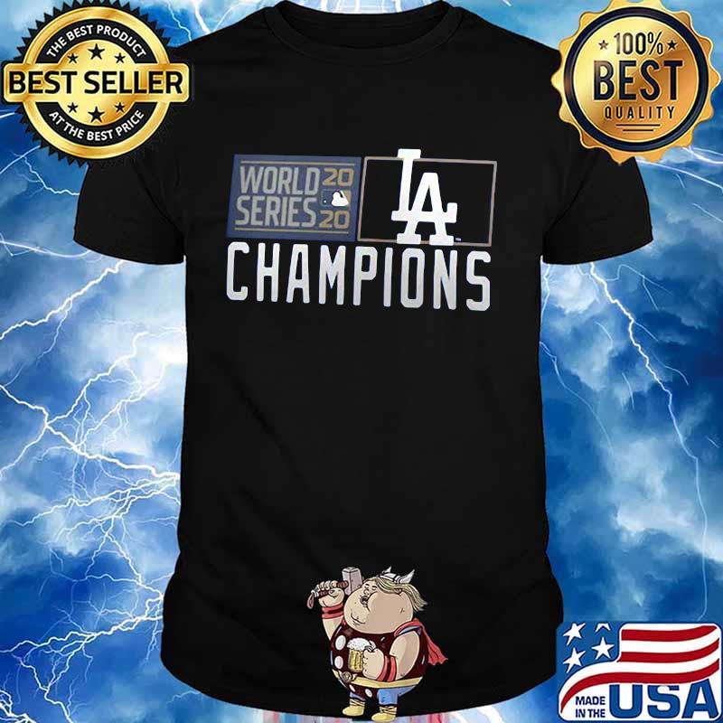 World series los angeles dodgers champions 2020 shirt
