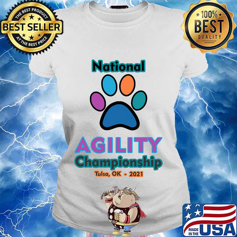 2021 national agility championship s Ladies tee