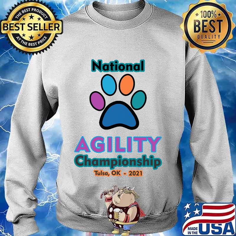 2021 national agility championship s Sweater