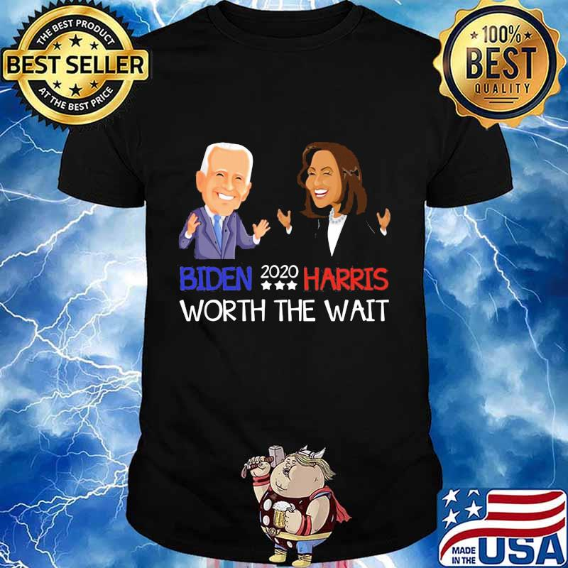 Biden harris worth the wait 2020 stars shirt