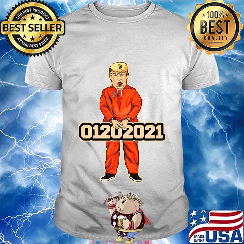 Donald trump inauguration day january 20 2021 inmate shirt