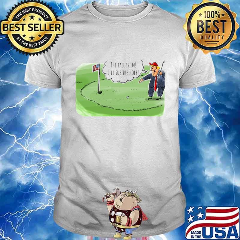Donald trump playing golf 2020 shirt