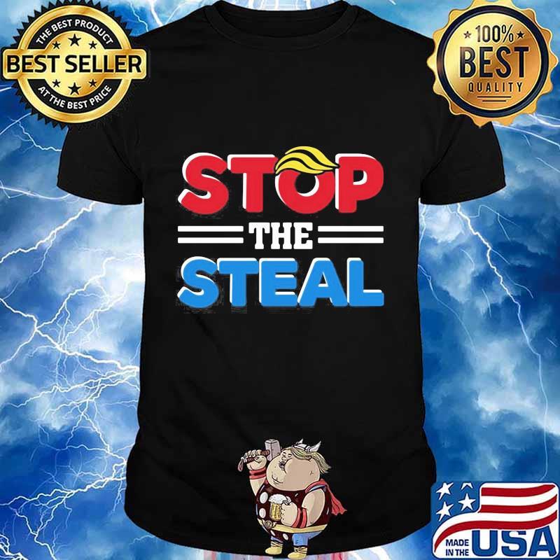 Donald trump stop the steal shirt