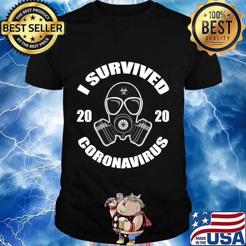 I survived 2020 virus survivor mask shirt