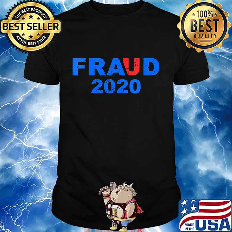 Joe biden election fraud 2020 pro trump maga shirt