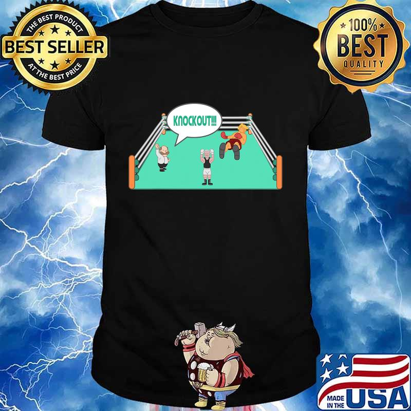 Joe biden vs trump 2020 knockout election champ shirt