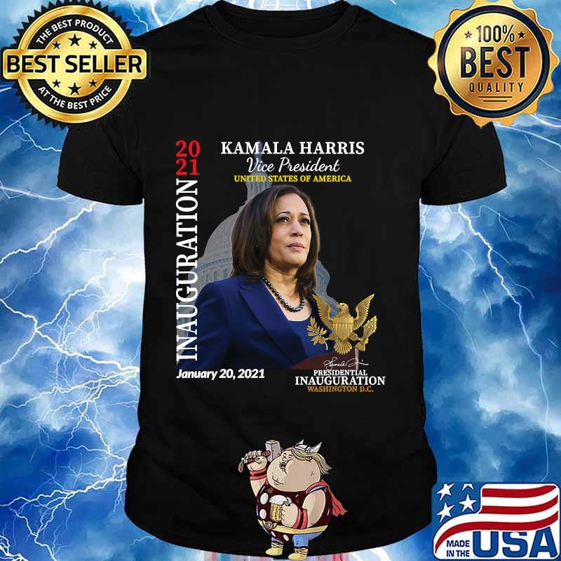 Kamala harris 2021 inauguration day commemorative souvenir shirt