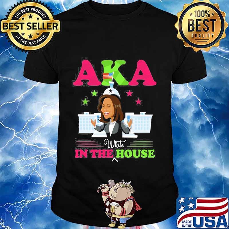 Kamala harris aka white in the house stars shirt
