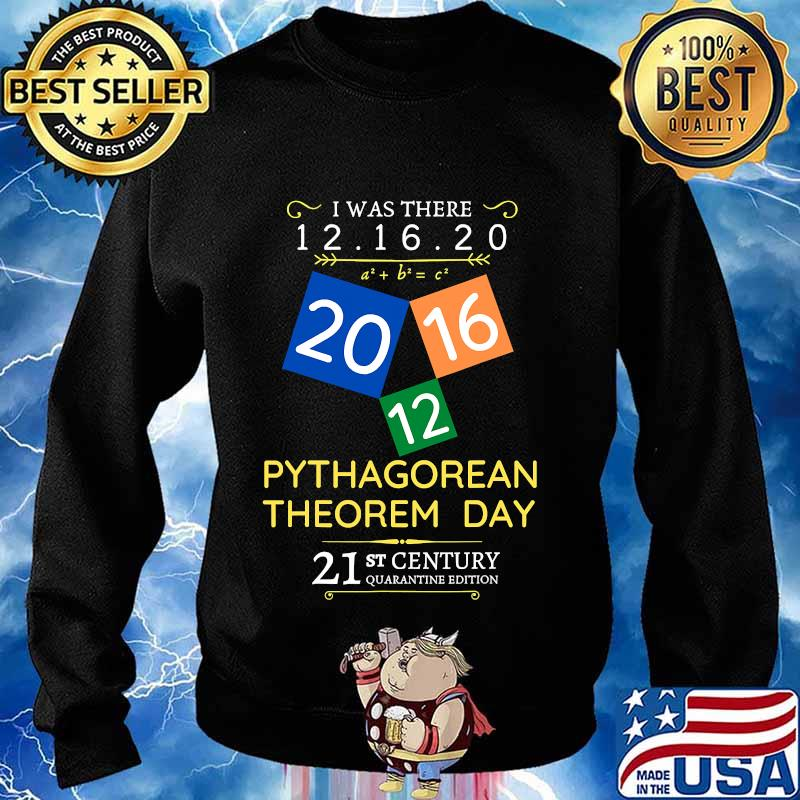 Pythagorean theorem day i was there 12.16.20 s Sweater
