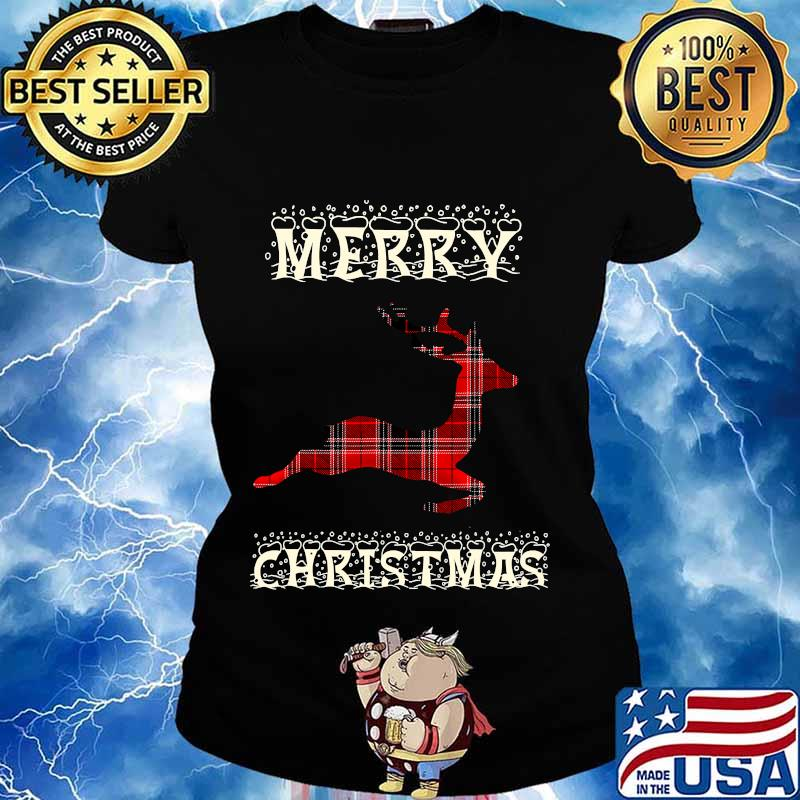 Rudolph reindeer matching family merry christmas 2020 s Ladies tee