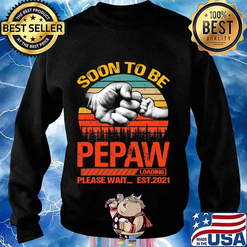 Soon to be pepaw loading please wait 2021 vintage retro s Sweater