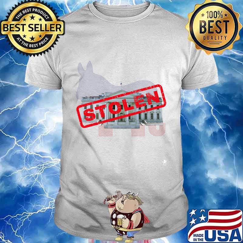 Stolen election stolen whitehouse 2020 goat shirt
