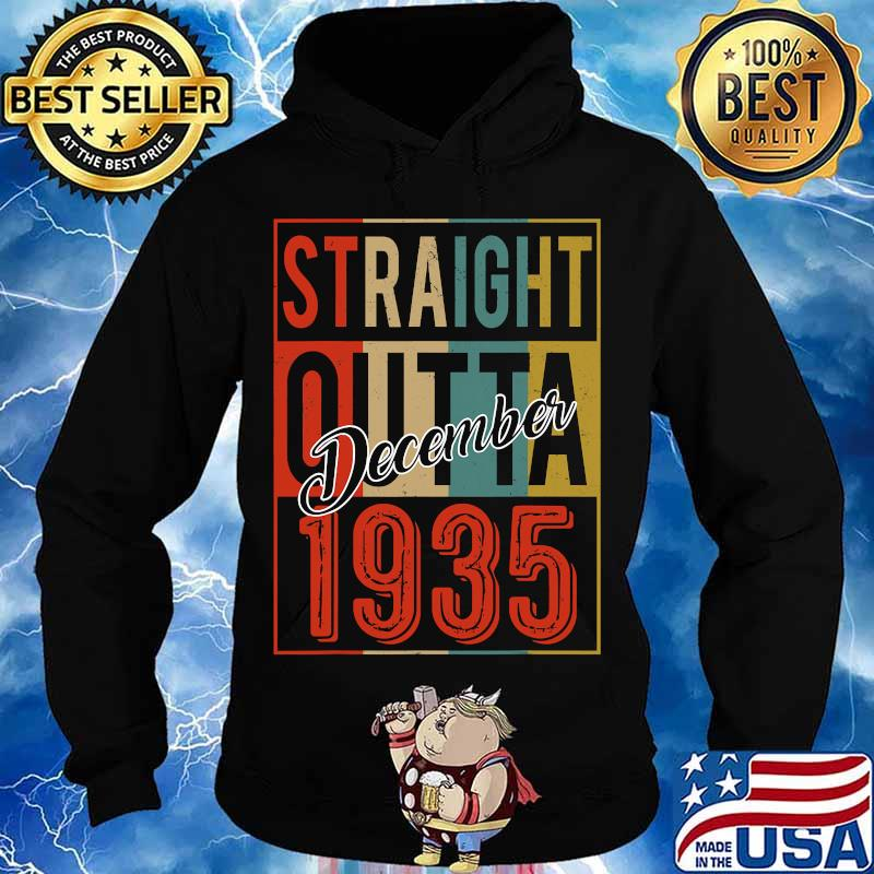 Straight outta 1935 85 years old 85th birthday vintage signature s Hoodie