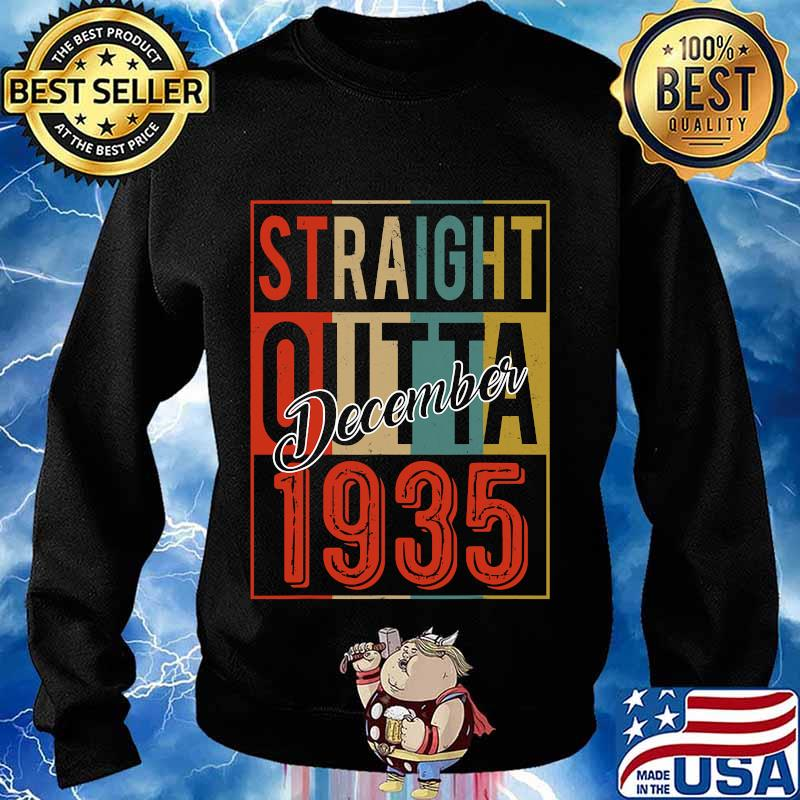 Straight outta 1935 85 years old 85th birthday vintage signature s Sweater