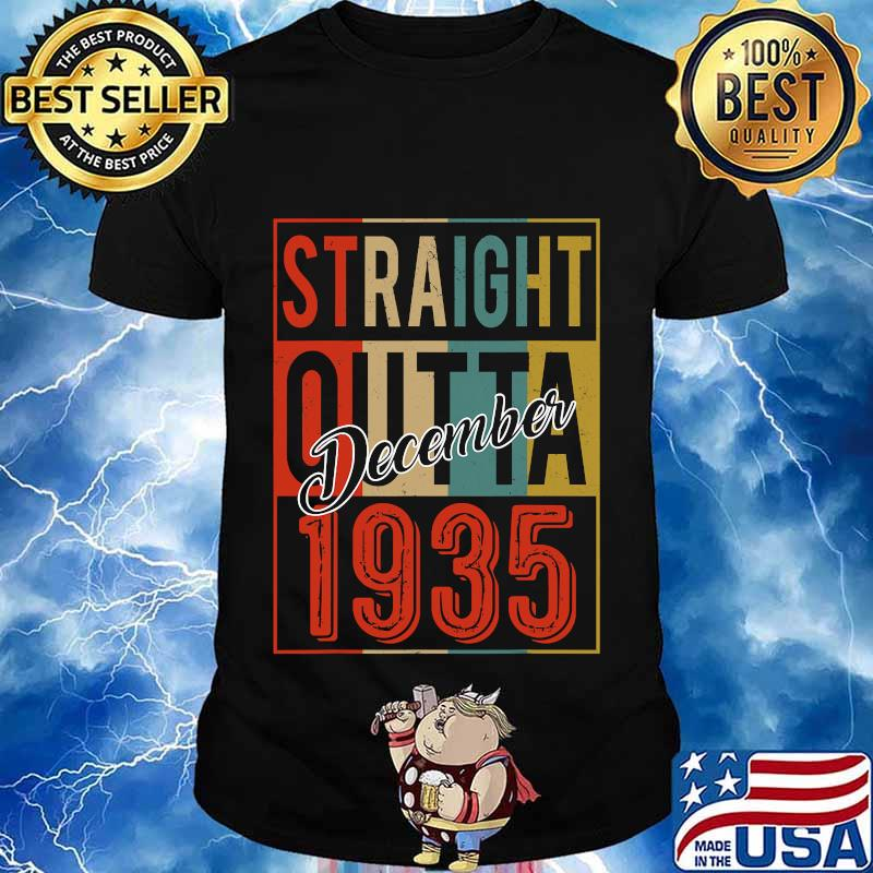 Straight outta 1935 85 years old 85th birthday vintage signature shirt