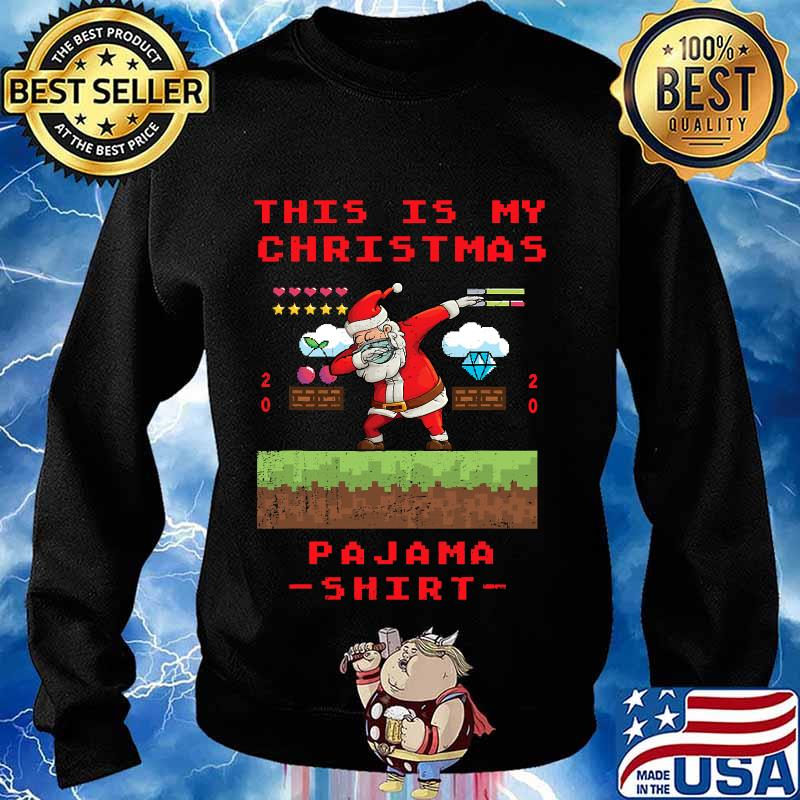 This is my christmas pajama gamer video game 2020 s Sweater
