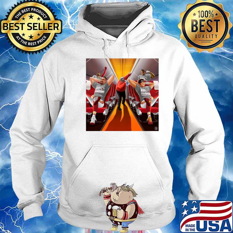 Afc Champions Kansas City Chiefs Super Bowl Lv 2021 Hoodie