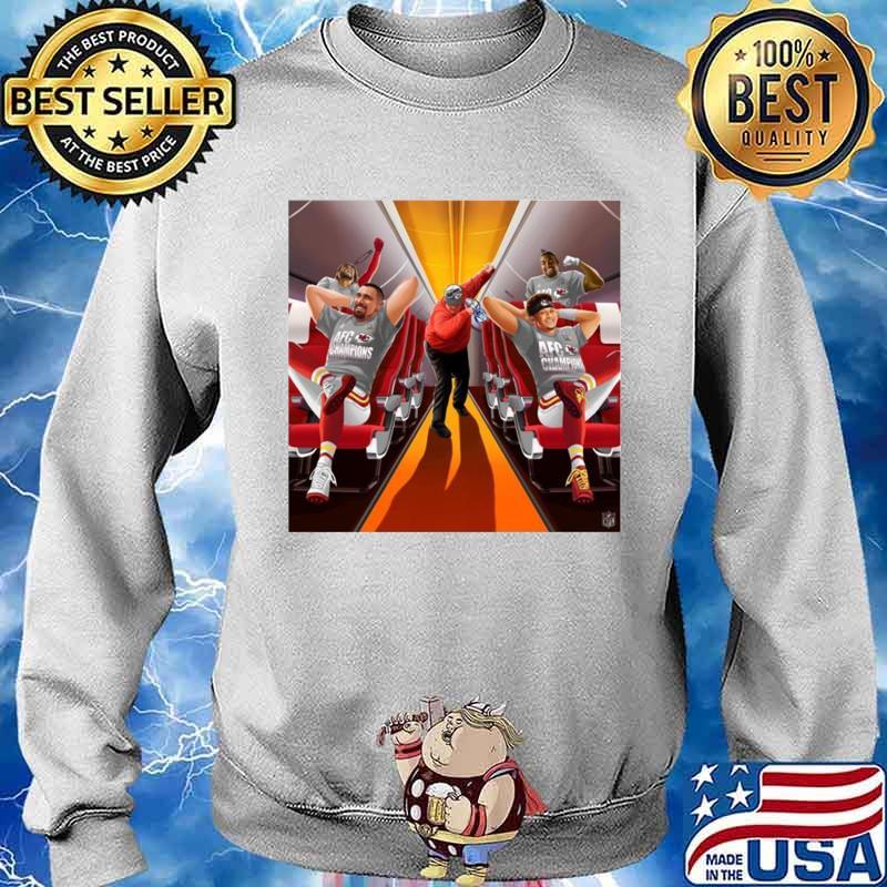 Afc Champions Kansas City Chiefs Super Bowl Lv 2021 Sweater