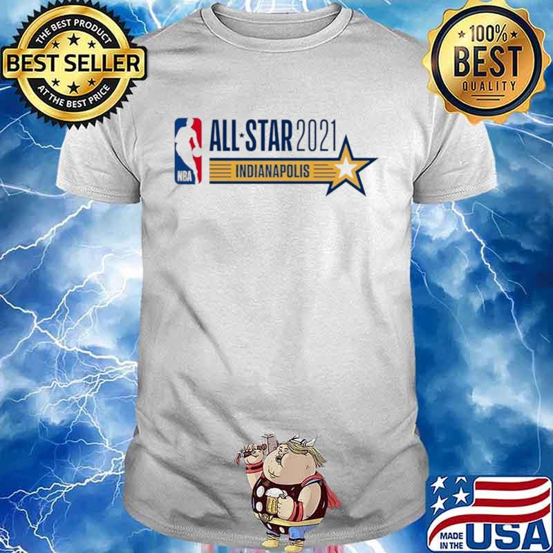 All Star Game Indianapolis 2021 Fan American Basketball shirt