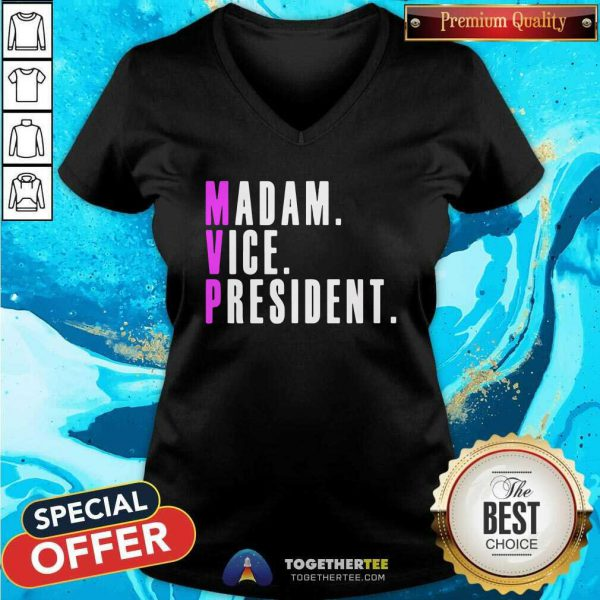 Kamala Harris Madam Vice President Political Mens Graphic Tank Top