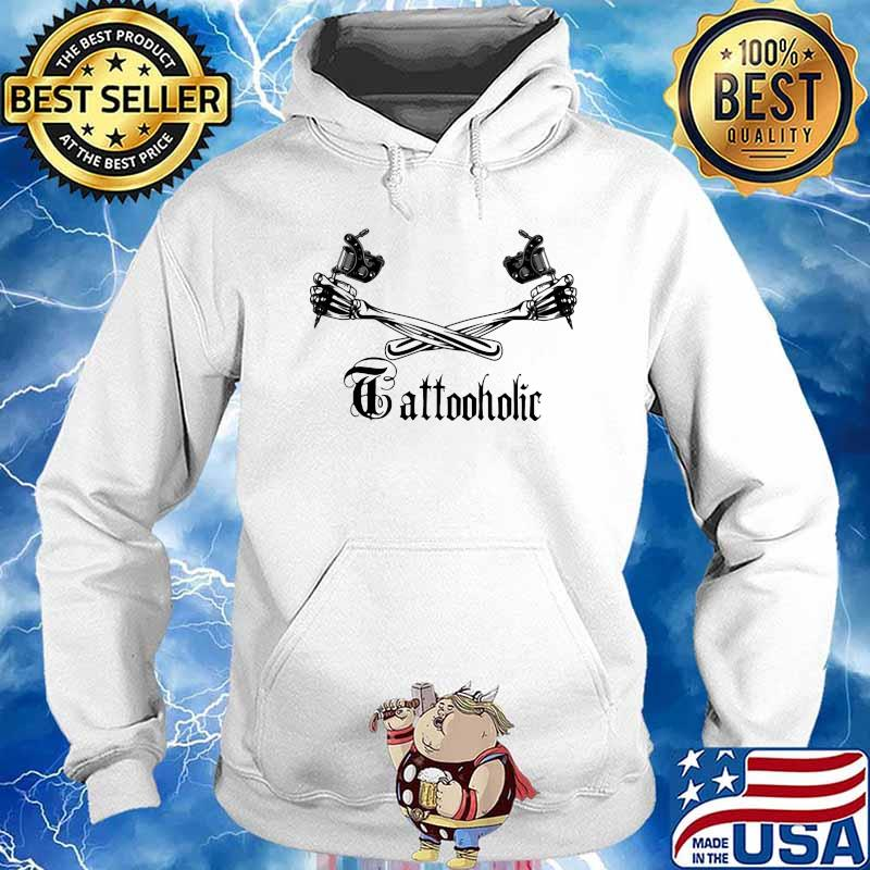 Tattoo Holic Art Bone Arm Shirt Hoodie