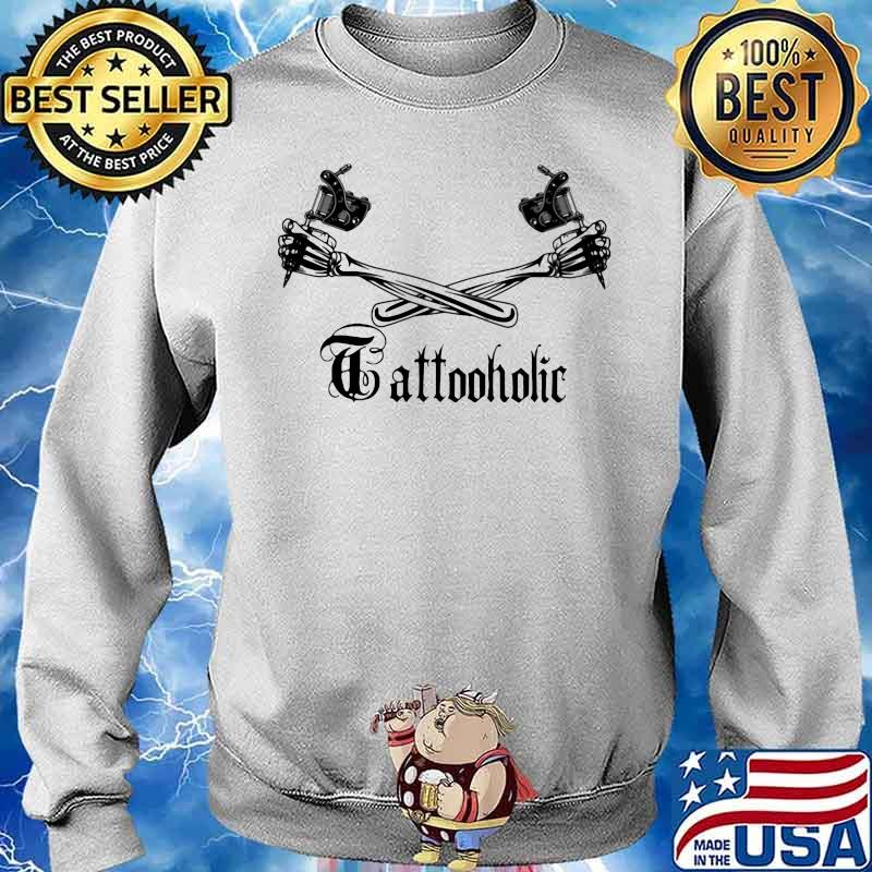 Tattoo Holic Art Bone Arm Shirt Sweater