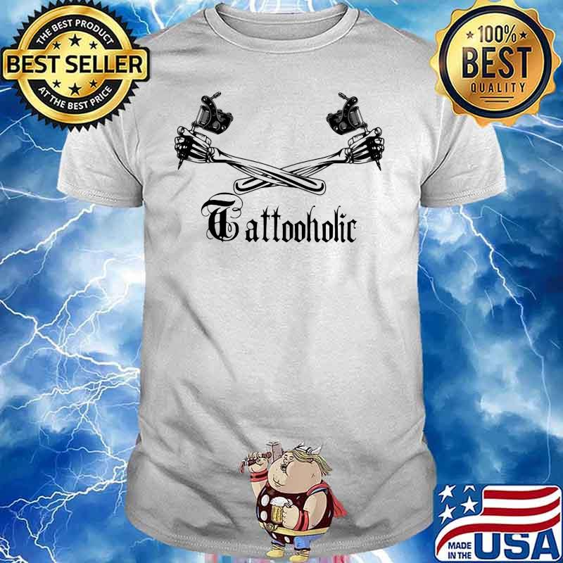 Tattoo Holic Art Bone Arm Shirt
